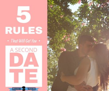Dating Rules That Will Get You a Second Date