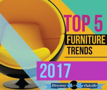 Top 5 Furniture Trends 2017