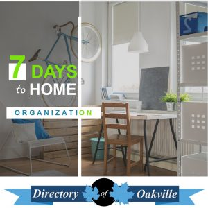 7 Days To Home Organization
