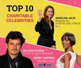 TOP 10 CHARITABLE CELEBRITIES